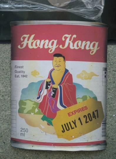 Von Studenten gestaltete Suppendose: Angst vor Dominanz Xi Jinpings